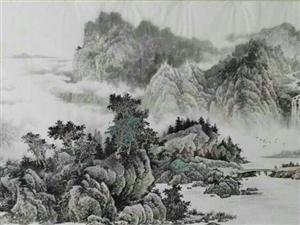 朱德辉先生山水画作品 (组图)