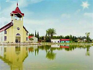 教堂式的婚宴大厅,广汉人首选的结婚礼堂――广汉三星堆时光小镇