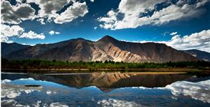 跟着网友自驾游,走进西藏看美景