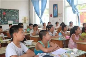 小树林支教团的15名大学生,在咱宁晋大陆村这所农村小学将青春绽放