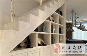复式房楼梯下的空间这样装修,充分利用不浪费