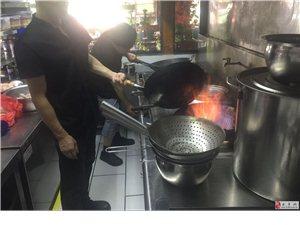 永丰县赣隆七号菜馆厨房天然气正式通气点火成功!