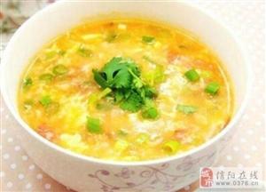 信阳美食――一碗平凡的面汤