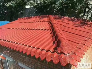 七汲高压机制水泥彩瓦价格优惠,负责安装,寿命50年冬不扫雪夏天隔热防雨