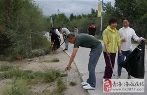 全员参与环境整治 迎接中央环保督查