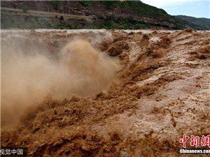 黄河壶口瀑布奔流滚滚气势磅礴