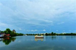秀家乡:吧友空即是宅拍摄的淮滨美景