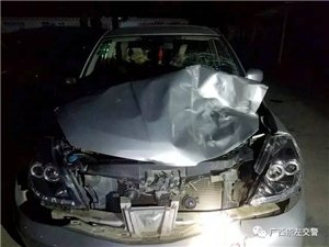 崇左发生一起交通事故,肇事司机逃逸,事故造成一头牛死亡......