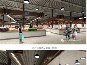 临汾兵站路长途汽车站即将变为农贸市场,规划图公布