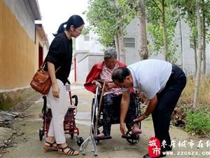 滕州:崭新轮椅送上门;精准扶贫暖人心