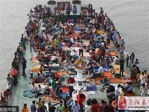 孟加拉民众返乡过宰牲节