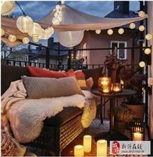 优雅的空间从舒适惬意的阳台开始吧