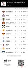 务川自治县足球大联盟联赛记录报道(第五轮)