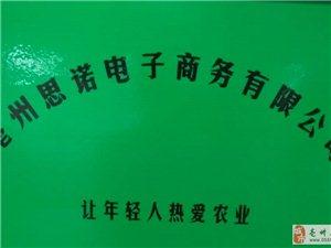 亳州思诺电子商务有限公司正式成立