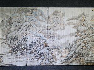 山水情——杜寿春、郭雪石书画联展