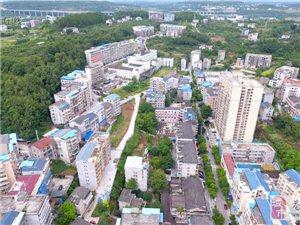 航拍:苍溪县城北门沟鸟瞰图