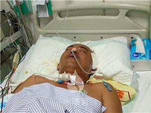 琼海一男子患急性脑出血昏迷不醒