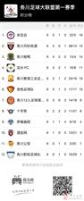 务川自治县足球大联盟联赛记录报道(第六轮)