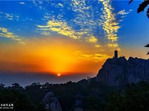 五莲山一场美景的秋天之约