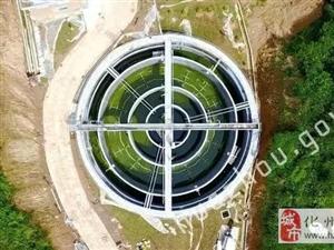 重磅!化州首个镇级污水处理厂在合江建成,即将投入使用!