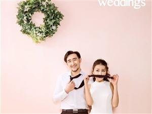中牟婚��z影新娘怎么微笑拍婚�照最美