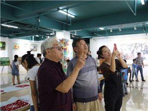 泊头青年办画展得到沧州多个美术大家的关注!