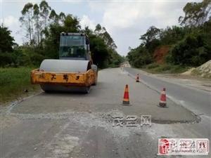 化州合江:省道285线塘坑至合江段修复工程开工