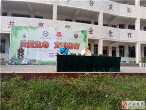 """泸县义工协会""""关爱生命文明出行""""进校园活动"""