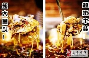 盐亭发现新美食|令人疯狂的味之绝美蛙鱼头终于来盐亭啦,5.8折吃到爽!
