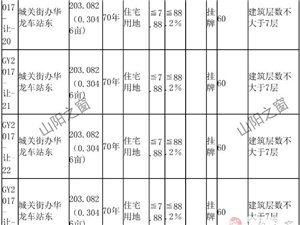 【公告】关于出让山阳县南大街东延、十里铺村等地使用权公告