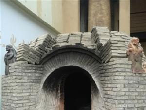 这样的窑,你见过吗?烧制的不是砖瓦,而是工艺品。