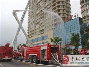 南城消防大队深入百望电子商城开展实战演练
