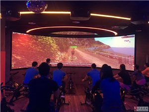 泸州首家室内大型动感单车免费体验!