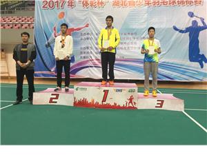 澳门太阳城娱乐体校参加省青少年羽毛球赛风采录