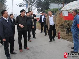 枣庄市三秋安全生产督导组来滨湖镇督导
