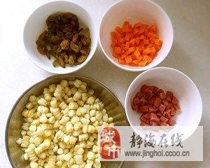 葡萄干什锦玉米粒