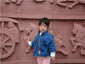 国庆节假期带小沐沐去养马岛海边游玩