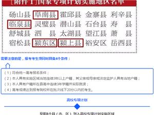 注意啦!咱临泉县的农村学子有望降20分上重点大学!报考条件是...