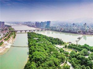 治水锁蛟龙;新景映兰江——-美高梅网站堤防建设绘就美丽样板