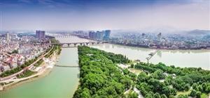 治水锁蛟龙;新景映兰江——-澳门赌场大全堤防建设绘就美丽样板