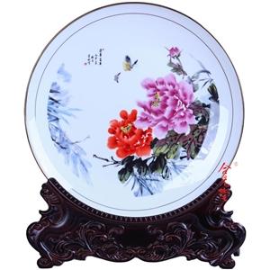 陶瓷装饰赏盘