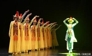 河西学院大型歌舞剧《裕固风华》首演成功