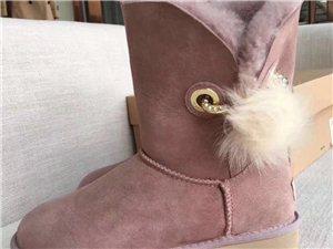 UGG 少女心炸裂PomPom毛球系列雪地靴  一件代发 招代理