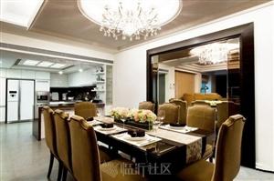 黑白色欧式低调奢华装修风格