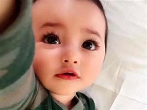 真人版洋娃娃!这个眼里住着星辰大海的混血宝宝,可爱到犯规