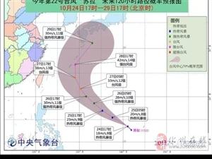 """又一个台风""""苏拉""""即将生成,或成超强台风!化州未来天气将会..."""