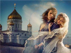 准备拍婚纱照的童鞋看过来了!用故事讲述着爱情,充满创意的婚纱作品