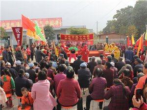 武功县景庄村第二届重阳节敬老活动隆重举行
