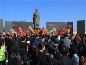 合阳洽川千人祭拜中国烹饪始祖伊尹盛况(多图)