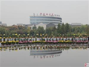 20171025济宁蓼河公园:这里的清晨静悄悄!